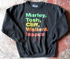 Image of REGGAE ALL-STAR SHOUTOUT CREW-NECK