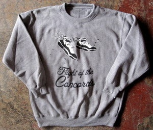 Image of FLIGHT OF THE CONCORDS CREW-NECK