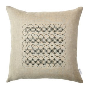 Image of Natural Circles Pillow Cover