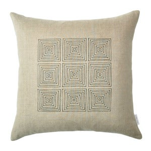 Image of Natural Squares Pillow Cover