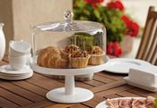 Image of Cake Cloche and Platter