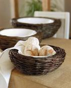 Image of Bread Basket and Bowl