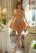 Image of Great Gatsby Glamour Dress (Peach)
