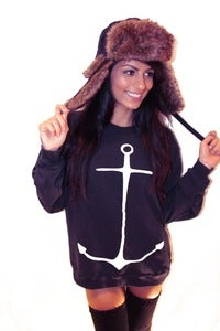 Image of Unisex Anchor Me French Terry Pullover