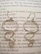 Image of Silver Plated Swirl Earings