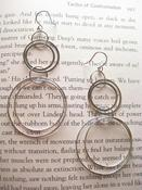 Image of Silver Plated Loop Earings