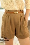Image of Short 'n' Sweet Safari Shorts (Earthy Brown)