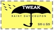 Image of RAINY DAY COUPONS