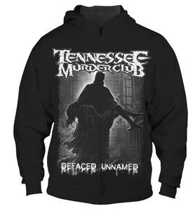 Image of Tennessee Murder Club - Defaced Zip Hoodie