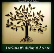 Image of Metal 'Tree of Life' Witch & Pagan Wall Art Décor (AT)
