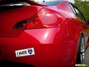 "Image of ""I HATE I-66 VA"" Bumper Stickers"