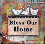 Image of Bless Our Home - Three Chicks
