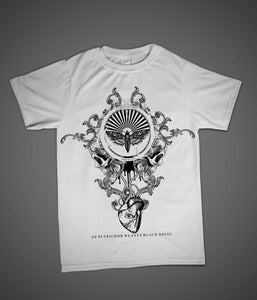 Image of Ne Obliviscaris 'Black Noise' WHITE T-Shirt