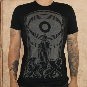 Image of 1984 - discharge inks - unisex -50/50 -restocked