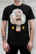 Image of Eye Hand Tee Shirt in Black - Mens/Unisex