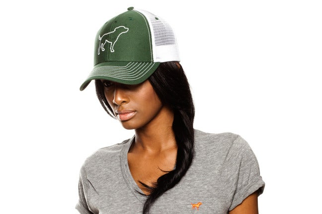 Image of GIRLS WHITE TINY TIM TRUCKER HAT