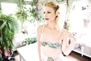 Image of Garden Party Pink Bra