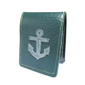 Image of  Anchor ) Badge Style Mini Wallet