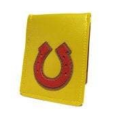 Image of Horseshoe ) Badge Style Mini Wallet