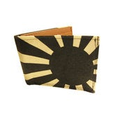 Image of Rising Sun ) Black ) Bifold Wallet