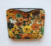 Image of Vintage Flower Fields Cosmetic Bags