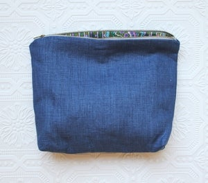 Image of Summer Denim Cosmetic Bag