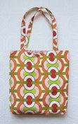 Image of Geometric Citrus Tote Bag