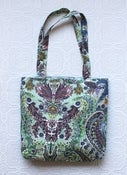 Image of Paisley Blues Tote Bag
