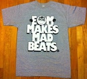 "Image of EOM x Save The Panduhs ""EOM Makes Mad Beats"" Tee."
