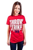 Image of Throw Strikes Tee Women's
