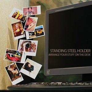 Image of Standing steel holder magnet set