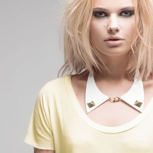 Image of Was £29 - Molly. Large Studded Collar Necklace