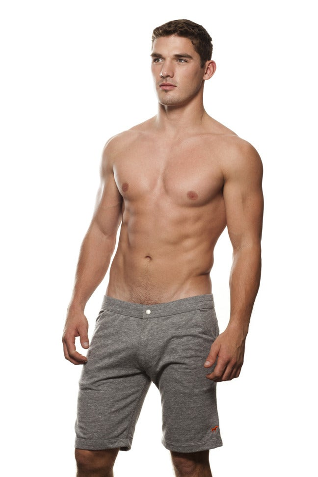 Image of GUYS GREY TINY TIM COACH SHORT