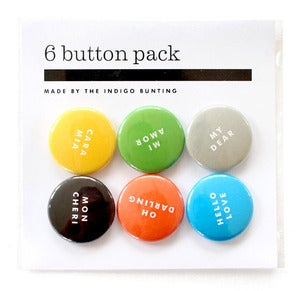 Image of MY DEAR Buttons
