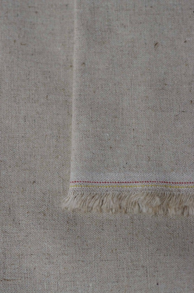 Image of PLAIN Basecloth Fabric ~ Natural Linen