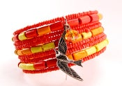 "Image of Girl On Fire Cuff Bracelet Inspired by ""The Hunger Games Jewelry"""