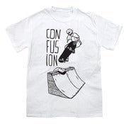Image of Confusion SACRIFICE t-shirt [white]