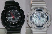 Image of Aviation Series Digital Sports Watch in Black or White
