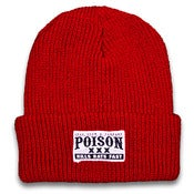 Image of Poison Beanie (Red)