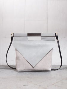 Image of LT GREY SLIM bag