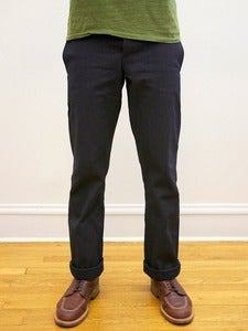 Image of Cone White Oak Indigo Selvedge Canvas Miner Chinos