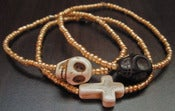 Image of Skulls and Crosses Bracelet