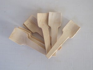 Image of Wooden Ice Cream Spoons