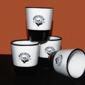 Image of CERAMIC SHOT GLASSES (SET OF 4)
