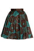 Image of African Tribal Print 50s style Skirt