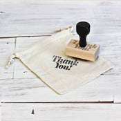 Image of 'Thank You' Wooden Stamp