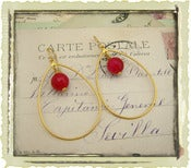 Jewelry: &quot;Olympia&quot; in Cherry