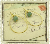 "Jewelry: ""Olympia"" in Green"