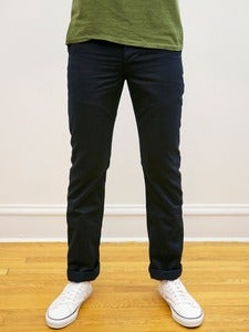 Image of Navy Japanese Military 10oz Twill Tailored Chinos
