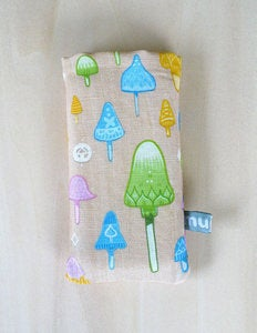 Image of Muju Mushroom iPhone / iPod Case